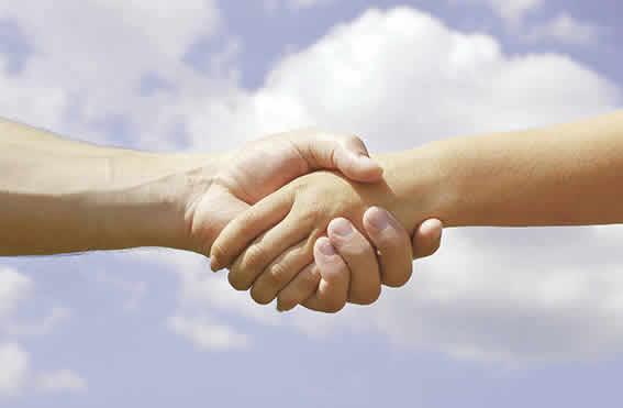 Handshaking on resolution